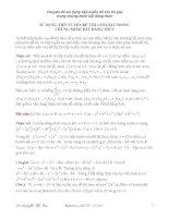 Tài liệu Chuyên đề sử dụng tiếp tuyến để tìm lời giải trong chứng minh bất đẳng thức docx