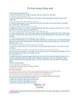 Tài liệu Từ loại trong tiếng Anh docx