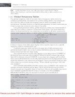 Tài liệu SQL Anywhere Studio 9- P2 doc