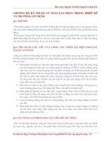 Tài liệu Kỹ thuật an toàn lao động trong thiết kế và thi công xây dựng_chương 3 docx