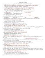 Tài liệu Trắc nghiệm ôn tập sinh học lớp 12 - HKII pdf
