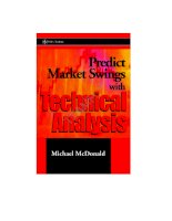 Tài liệu M. Mcdonald - Predict Market Swings With Technical Analysis (Wiley-2002) (pdf) docx