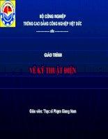 Tài liệu Ve Ky Thuat Dien pdf