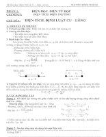Tài liệu Điện tích- định luật cu-long pptx