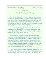 Tài liệu Thuật Nói Chuyện Hằng Ngày - Hoàng Xuân Việt (Phần 035) pptx