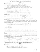 Tài liệu Tuyển tập 150 đề thi thử đại học môn Toán pdf