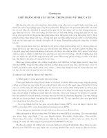 Tài liệu Chương 6: Chế phẩm vi sinh vật dùng trong bảo vệ thực vật ppt