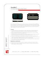 Tài liệu ADC KRONE - Datasheet - ODF - TFP Series Rack Mount Fiber Panels docx