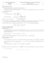 Tài liệu Đề và đáp án luyện thi đại học 2010 khối A-B-C-D đề 5 ppt