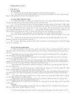 Tài liệu Các câu hỏi ôn tập môn Kiểm toán pdf