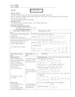 Tài liệu Luyện tập cách giải hệ bằng phương pháp cộng đại số (Tiết 38) ppt