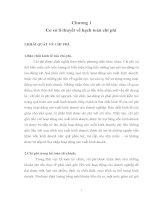 MỘT số CHỨNG từ được sử DỤNG TRONG CÔNG tác HẠCH TOÁN CHI PHÍ