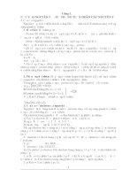 Tài liệu Lý thuyết và bài tập ôn thi CĐ ĐH môn Hóa - Chương 1 docx