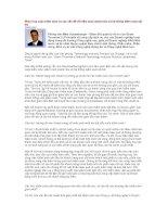 Tài liệu Phác hoạ cuộc kiểm toán và các vấn đề về kiểm toán doanh thu và hệ thống kiểm soát nội bộ docx
