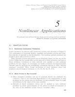 Tài liệu Lọc Kalman - lý thuyết và thực hành bằng cách sử dụng MATLAB (P5) pdf