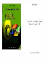 Tài liệu Lập trình Windows với MFC Visual C++ 6.0 pdf