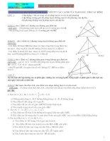 Tài liệu Tổng hợp hình học 10-11-12 luyện thi đại học pdf