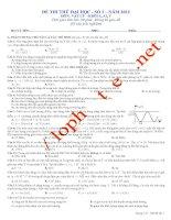 69 đề thi thử đại học vật lý
