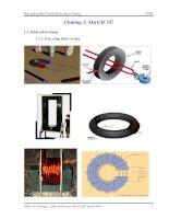 Tài liệu Kỹ thuật đại cượng : Mạch từ (hình minh họa) ppt