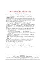 Hướng dẫn soạn thảo văn bản từ cơ bản tới nâng cao 2014