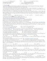 Tài liệu Đề ôn tập luyện thi đại học 08-09 pptx
