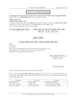 Tài liệu Trộn thư trong WordXP ppt