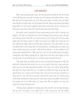 THỰC TRẠNG TÌNH HÌNH PHÁT TRIỂN sản PHẨM mới tại NGÂN HÀNG TMCP XNK VIỆT NAM