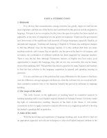 Sử dụng phương pháp đối chiếu trong việc dạy kỹ năng nói tiếng anh cho sinh viên không chuyên tại trường đại học lâm nghiệp