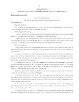MÔT SỐ KIẾN THỨC BỔ TRỢ CHO PHẦN BÀI GIẢNG TỔ CHỨC QUẢN LÝ CÁC LOẠI RỪNG
