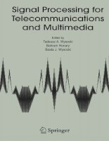 Tài liệu Signal Processing for Telecommunications and Multimedia P1 ppt