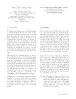 Tài liệu Cách viết một bài báo kỹ thuật (Tài liệu song ngữ Anh-Việt) ppt