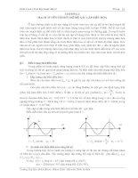 Tài liệu Giáo trình cơ sở Kỹ thuật điện IX pdf