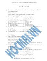 Tài liệu VẤN ĐỀ 3. PHI KIM docx