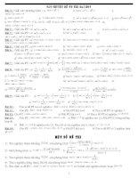 Tài liệu Chuyên đề ôn thi đại học môn Toán pdf
