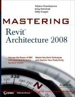Tài liệu Mastering Revit Architecture 2008_ Part 1 doc