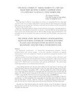 Tài liệu Ứng dụng cơ điện tử trong nghiên cứu, chế tạo trạm trộn bê tông tự động.. pdf