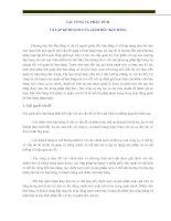 Tài liệu Chương 1: Các công cụ phân tích và lập kế hoạch của giám đốc bán hàng ppt