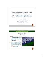 Tài liệu Bài 1: Khái quát về kỹ thuật màng doc