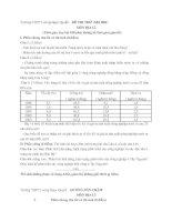 Đề thi thử Đại học Môn Địa Lý (THPT Lương Ngọc Quyến 2011)