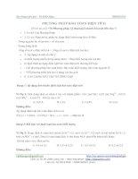 Tài liệu Phương pháp bảo toàn điện tích - Vũ Khắc Ngọc pdf