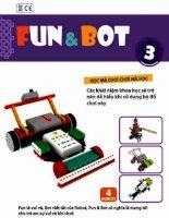 Sách hướng dẫn lắp ghép robot huna fun & bot 3