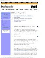 Tài liệu Cisco CCIE - Exam Preparation doc