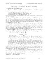 Tài liệu CHƯƠNG 3: NGÔN NGỮ LẬP TRÌNH VÀ ỨNG DỤNG docx