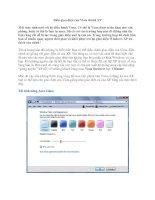 Tài liệu Biến giao diện của Vista thành XP pptx