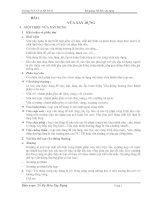 Tài liệu Bài giảng về vật liệu xây dựng doc