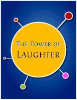 Tài liệu The Power of Laughter pptx