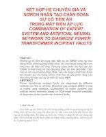 Tài liệu Hệ chuyên gia và mạng nơron chẩn đoán MBA pdf