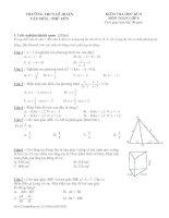 Tài liệu Bộ đề tham khảo kiểm tra học kỳ toán lớp 8 đề 2 pptx