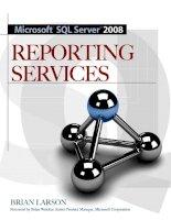 Tài liệu McGraw-Hill - Microsoft SQL Server 2008 Reporting Services (2008)01 docx