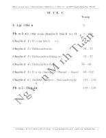 6 chuyên đề hóa hữu cơ 11